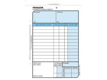 Paragon A6, číslovaný, zjednodušený 2 x 50 listů 1041