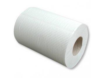 Papírová utěrka v roli Papernet Euro Star 200 PK Midi, 2 vrstvy, 67m, bílá celuloza