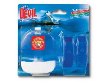 WC závěs Dr. Devil Polar Aqua + 2 náplně 55ml
