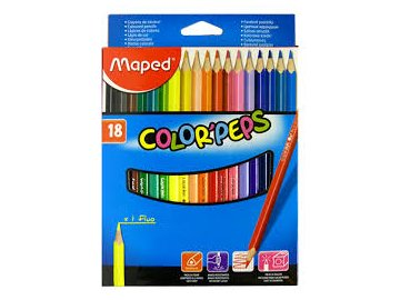Pastelky Maped Color´Peps 18ks