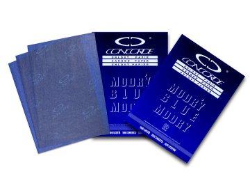 Uhlový papír modrý 100l