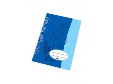Školní sešit A5 520 čistý 20 listů