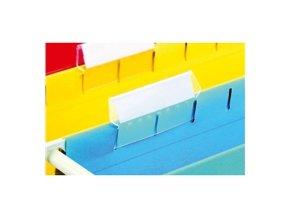 Plastové rozlišovače pro závěsné desky - 25ks