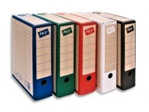 Archivační krabice HIT BOARD COLOUR 7,5 cm - červená