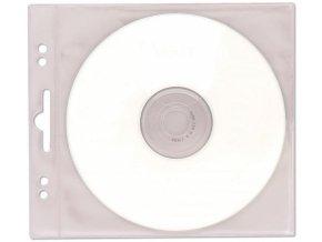 Obal na CD/DVD závěsný PVC 10ks