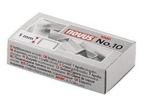 Drátky do sešívačky Novus No.10 1000ks