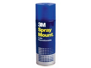 3M Lepidlo Spray Mount 400ml