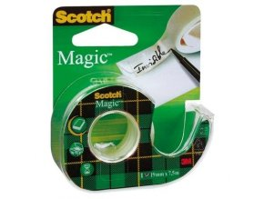 Lepící páska Scotch Magic 19 mm x 7,5 m