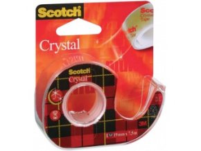 Lepící páska Scotch Crystal Clear 19 mm x 7,5 m