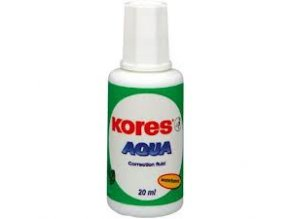 Opravný lak KORES Aqua štětec 20ml
