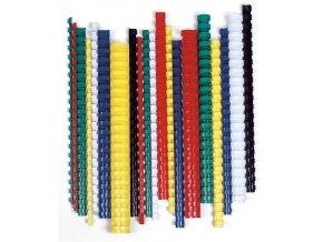 Plastové hřbety pro vazbu 16mm