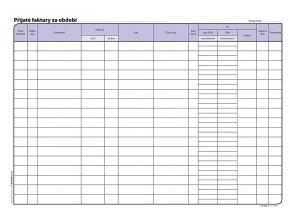 Kniha pohledávek a závazků A4 1008