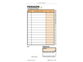 Obchodní paragon, samoprop., číslovaný, 2 x 50 listů 1089