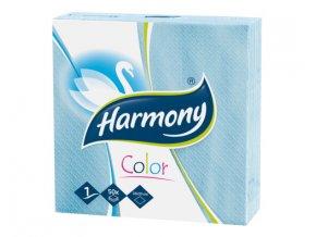 Ubrousky Harmony 33x33cm modré 50ks