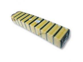 Houbičky na nádobí - drážka 10x7 cm, 10ks
