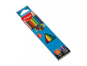 Pastelky Maped Color´Peps 6ks