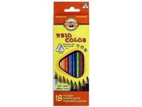 Pastelky KOH-I-NOOR  3133/18 trojhranné