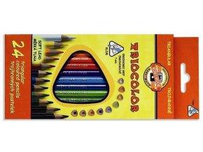 Pastelky KOH-I-NOOR  3134/24 trojhranné