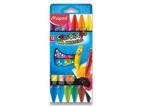 Olejové pastely Maped Color Peps Oil Pastels - 12ks