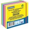 Samolepící bloček 76x76 mm, neonový, 6 barev, 400 lístků