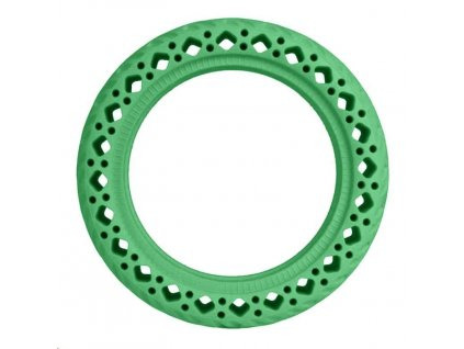 Green Rubber Wheels for Xiaomi Scooter (OEM)