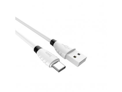 Hoco Excellent Charge Charging Data Cable for Type-C (1.2m) (White)