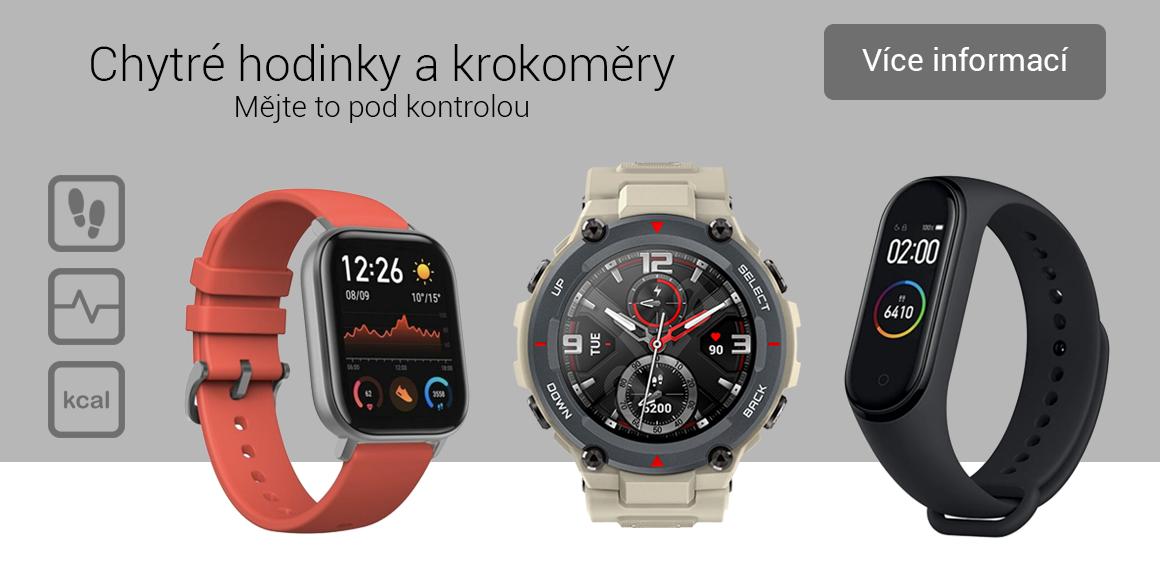 Chytré hodinky a krokoměry
