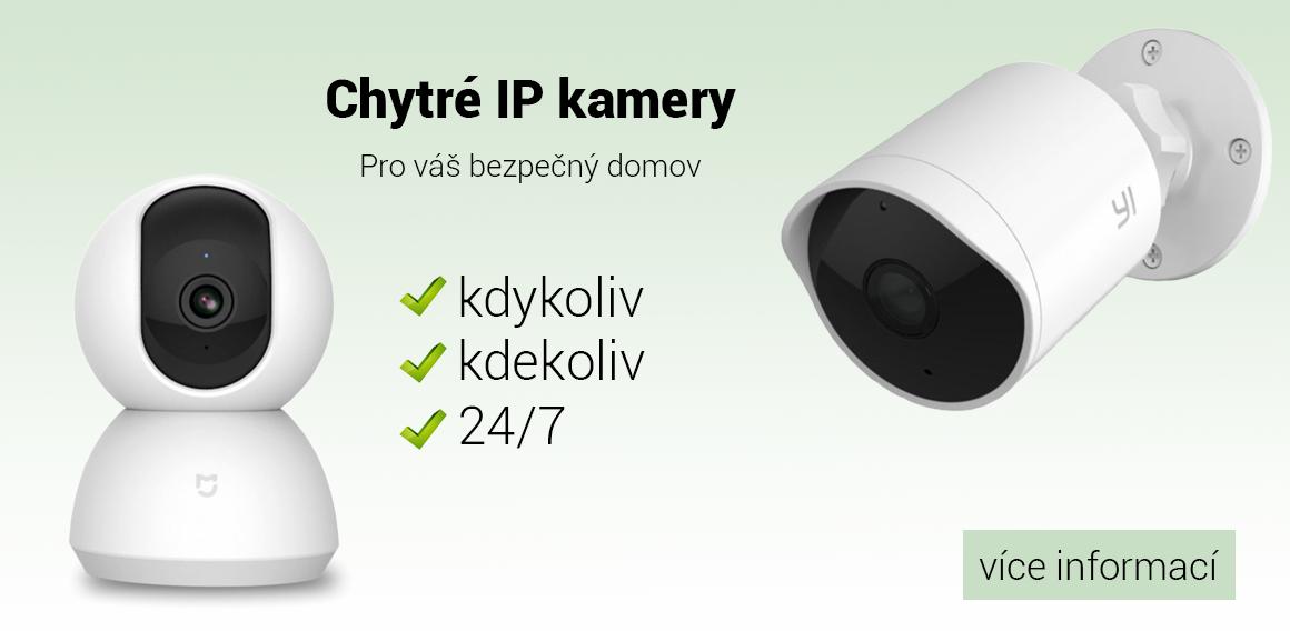 Chytré IP kamery