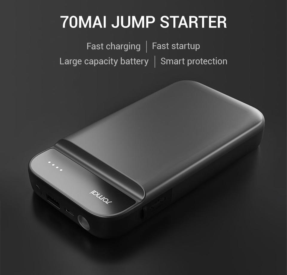 Xiaomi 70 Mai Car Jump Starter - Multifunkční baterie startér