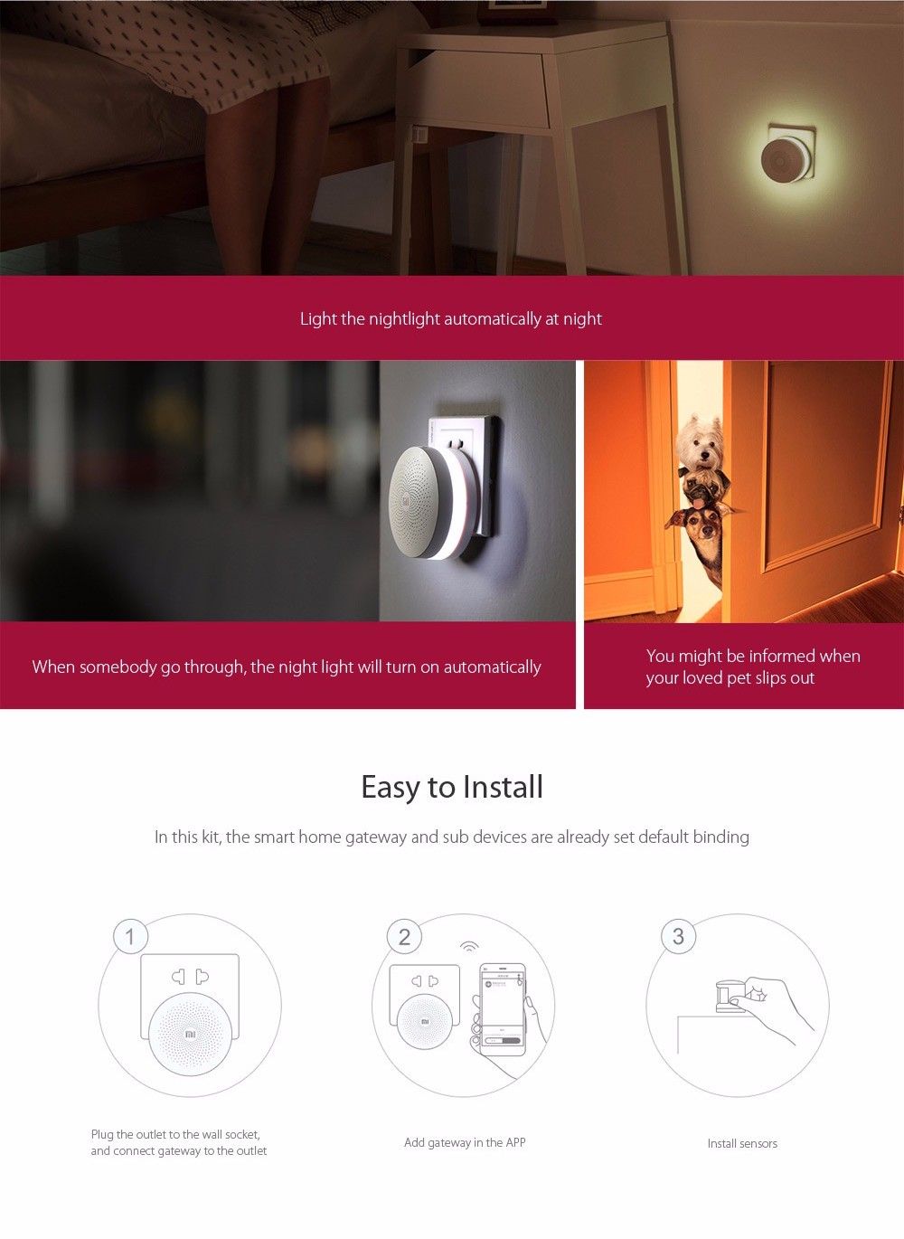 XIAOMI SMART HOME GATEWAY ALARM cz 2-1