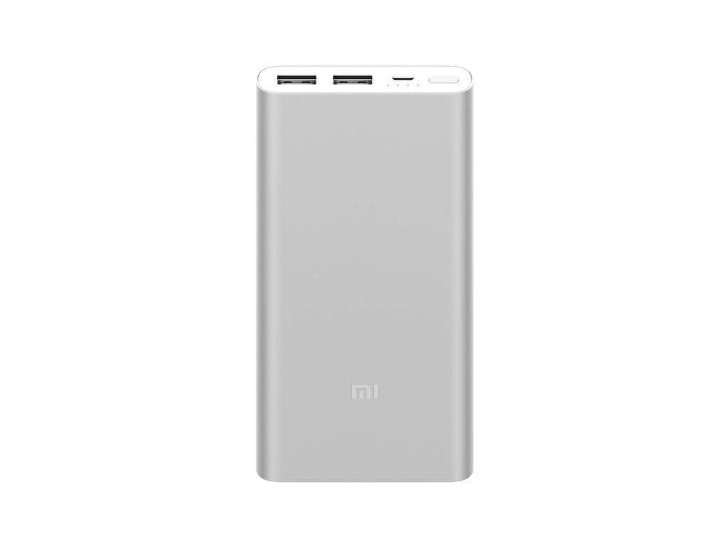 Xiaomi Mi PowerBank 2S 10000 mAh (Barva Stříbrná)