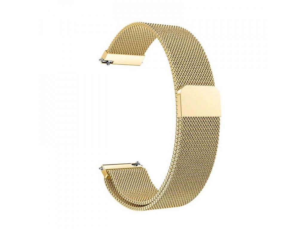 Kovový řemínek Milánský tah pro hodinky Xiaomi Amazfit - 20mm