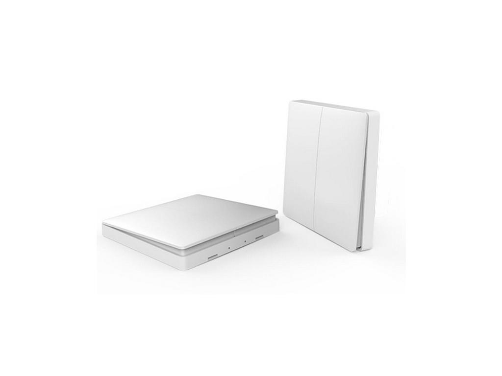 Xiaomi Aqara Smart Light Control font b ZiGBee b font Wireless Key Xiaomi Aqara wall switch Wireless - Bezdrátový spínač