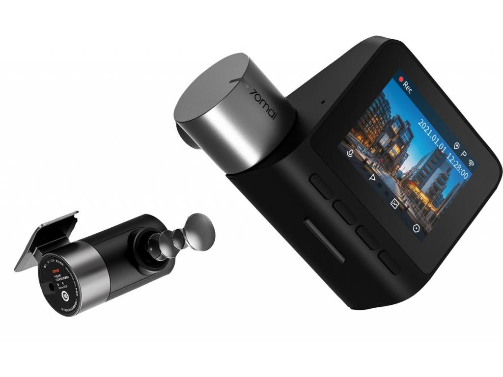70mai Dash Cam Pro Plus - Autokamera (Barva/Balení Set přední a zadní kamery)