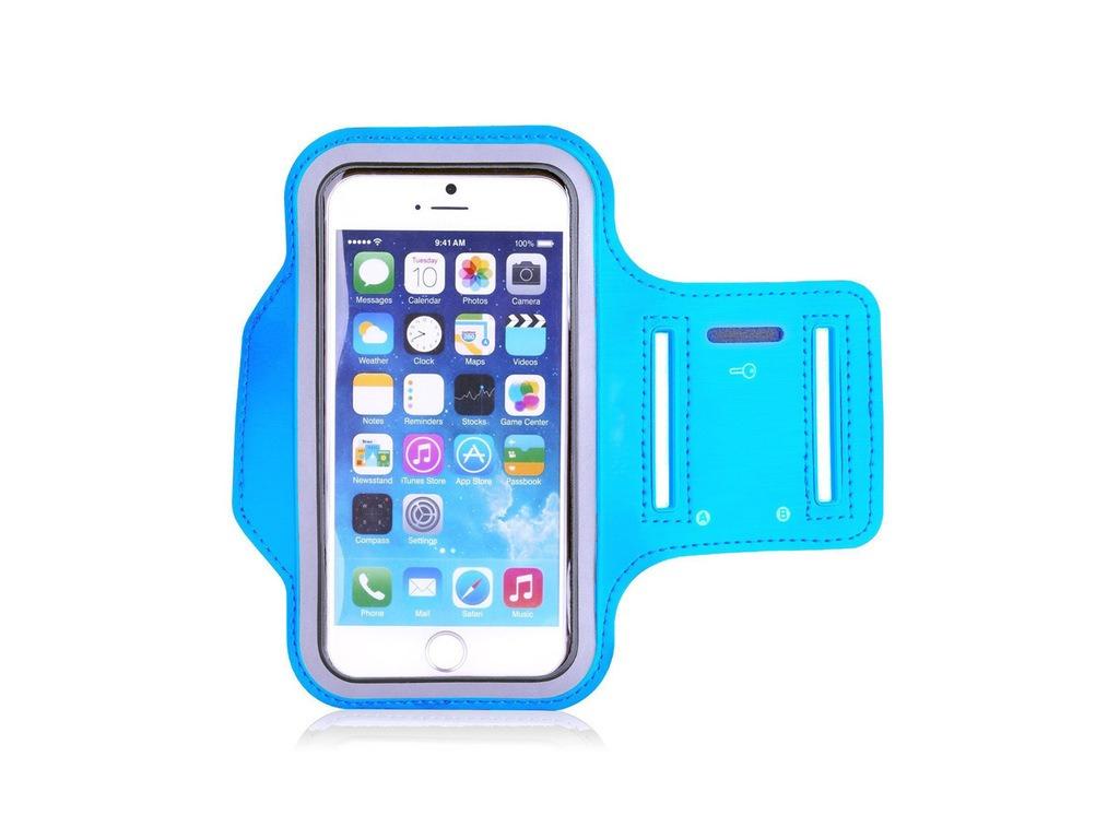 """Stylový sportovní obal na běhání pro iPhone 6/6S/7 - 4,7"""" (Barva Zelený)"""