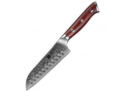 Santoku nůž XinZuo Yu B13R