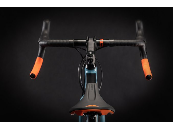 Gravel kolo Cube Nuroad Race black´n´greyblue 2020