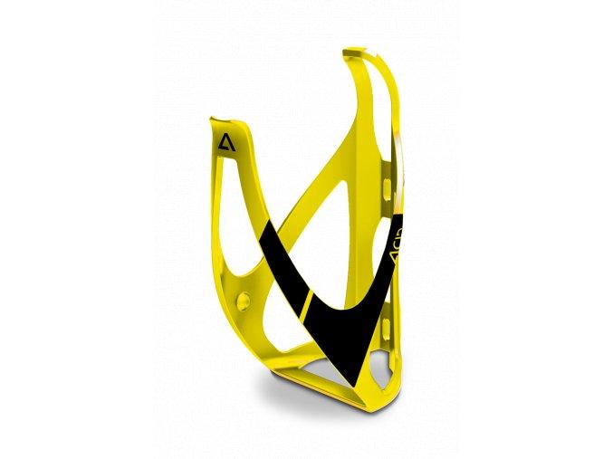 Košík na láhev Acid matný černá/žlutá
