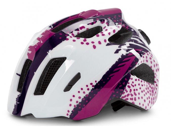 Dětská cyklistická helma CUBE Fink violet