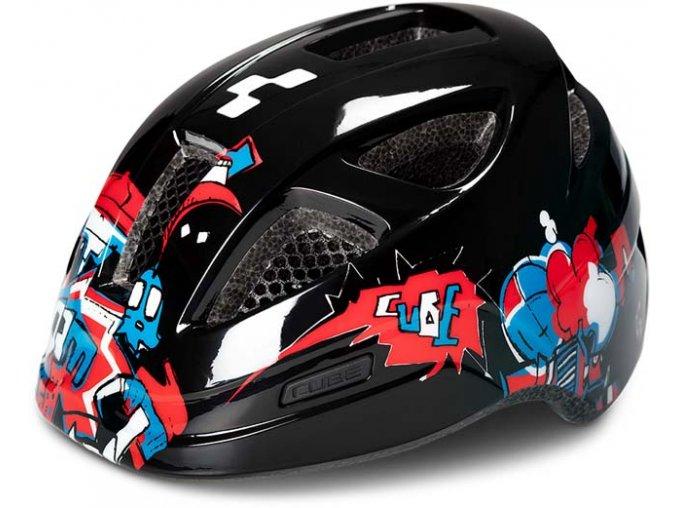 a 6003851 16136 Cube Helm LUME black
