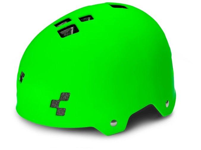 Cyklistická helma CUBE Dirt green
