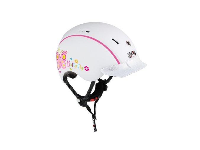 prilba detska casco mini generation butterfly white s 50 55 cm i39241