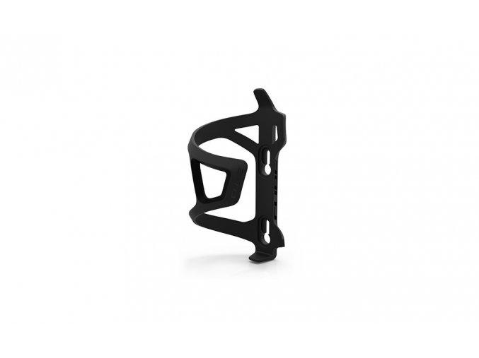 Stranový košík na láhev CUBE černý/černý pravý