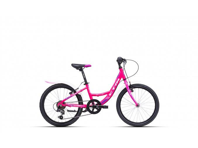 Dětské kolo CTM Ellie růžová / fialová 2021