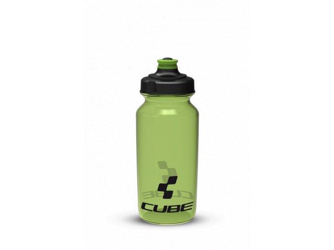 Láhev na kolo CUBE 0,5 l zelená