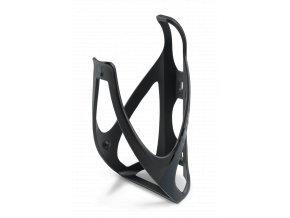 Košík na láhev CUBE šedý/černý lesk