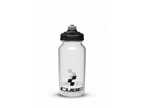 Láhev na kolo CUBE Icon 0,5l transparent