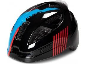 Dětská cyklistická helma CUBE Lume action Team
