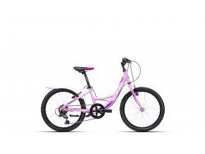Dětské kolo CTM Ellie světlá fialová / fialová 2021