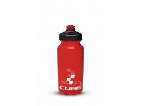 Láhev na kolo CUBE 0,5 l červená
